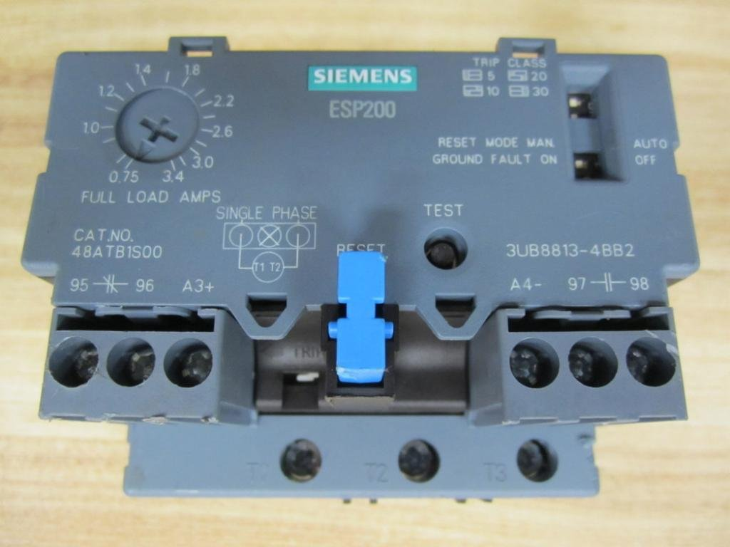 Siemens Esp200 Overload Relay Wiring - All Kind Of Wiring Diagrams •