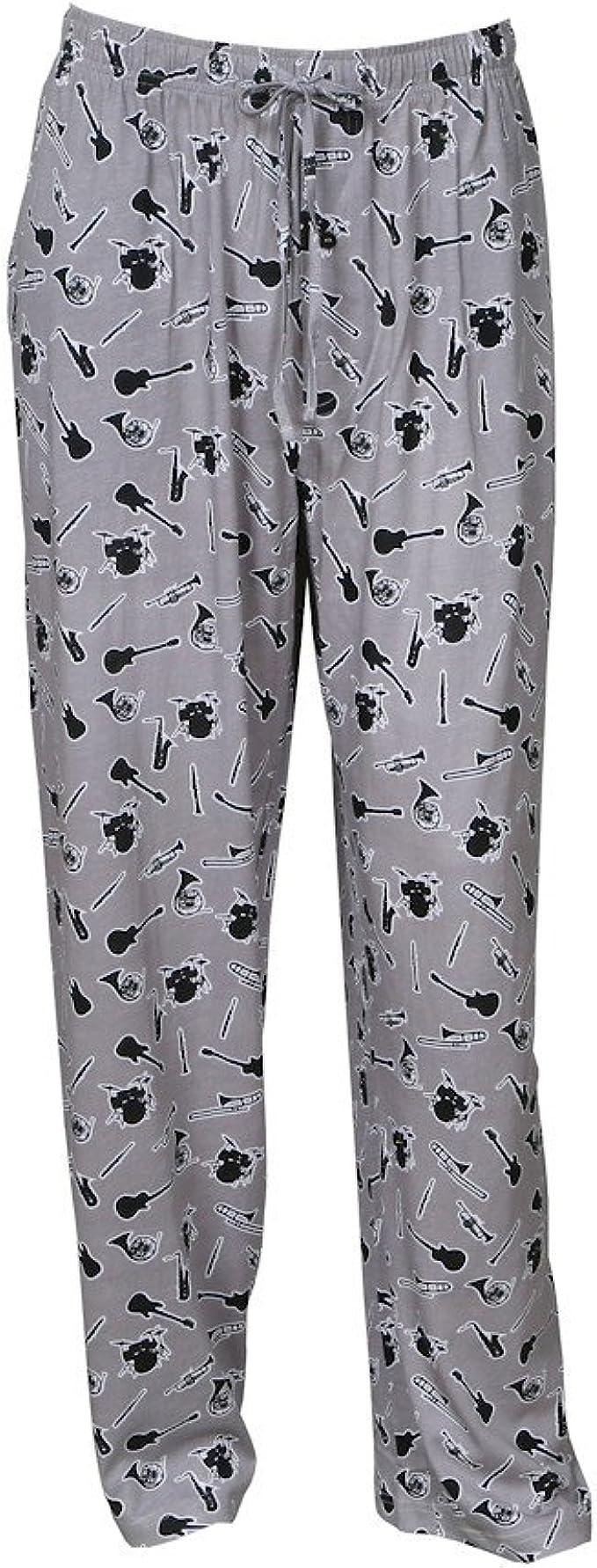 David Carey Unisex Adult Musical Instruments Lounge Pants Elastic Drawstring with Pockets Inc
