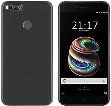 Todobarato24h Funda TPU Lisa Negra Compatible con Xiaomi MI A1 MI ...