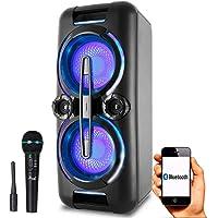 Caixa de Som Philco PCX 8000-500w Bluetooth com microfone sem fio