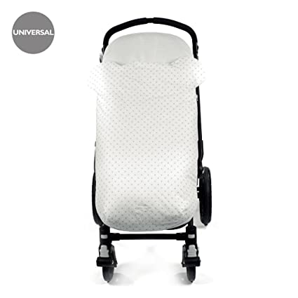 Pasito a pasito 73477 - Funda silla y saco para verano, diseño oso, color