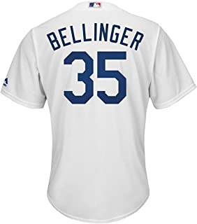 Outerstuff Cody Bellinger Los Angeles Dodgers Toddler White Home Cool Base Replica Jersey