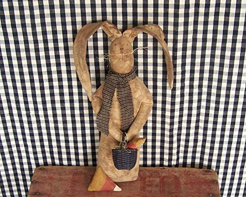 country rustic rabbit doll
