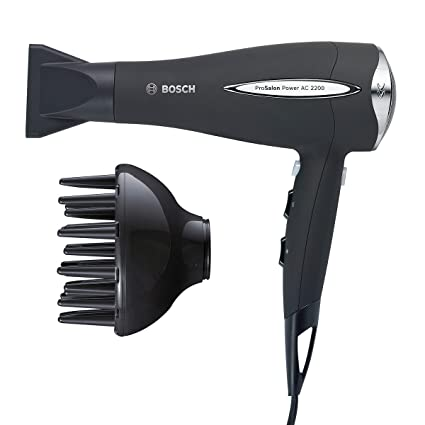 Bosch PHD9960 ProSalon Power AC 2200 - Secador de pelo, 2180 W de potencia,