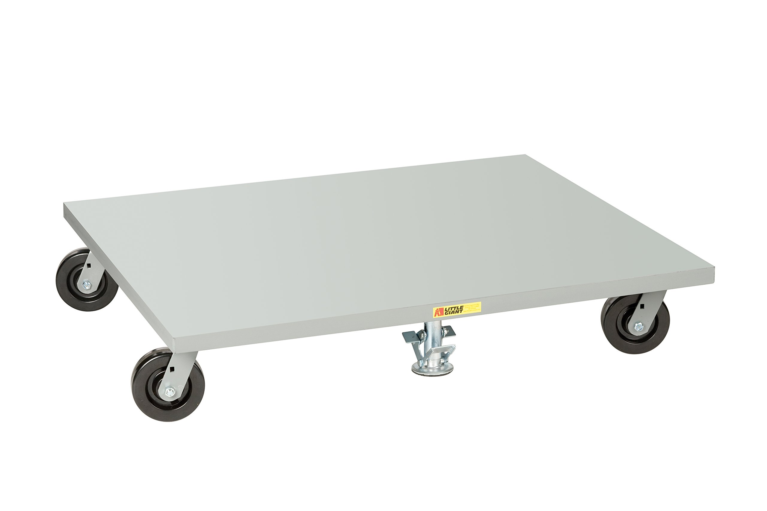 Little Giant PDS4248-6PH2FL Solid Deck Pallet Dolly, 42'' x 48'', Gray by LITTLE GIANT (Image #1)