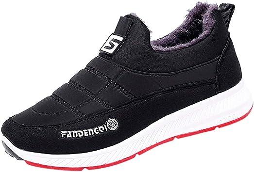 Compre Botas Para Hombre Zapatos De Invierno Para Hombres Punta Redonda Tela De Algodón Con Cordones Botas De Plataforma Tobillo Alto Para Hombre A