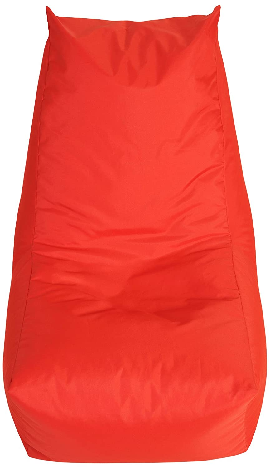 Water Resistant Bonkers Round About Bean Bag in Red with Beans Filling