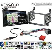 Volunteer Audio Kenwood Excelon DNX694S Double Din Radio Install Kit with GPS Navigation System Android Auto Apple CarPlay Fits 2009-2011 Hyundai Azera