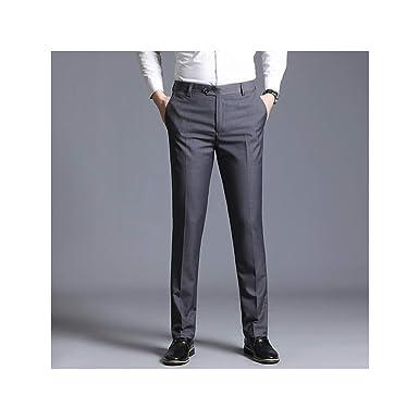 Hopereo Traje Delgado para Hombre Pantalones Separados Boda Formal ...