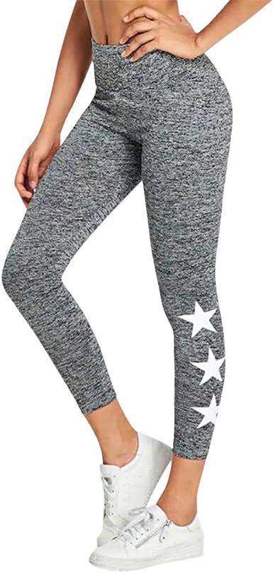 kemilove Women Leggings Power Stretch High Waisted Yoga Pants Running Workout Leggings