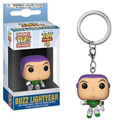 Funko Pop! Keychain: Toy Story 4 - Buzz Lightyear: Toys & Games