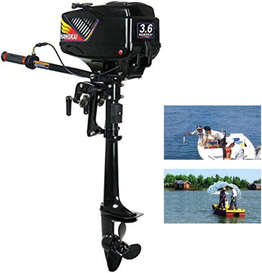 Outboard Motor Heavy Duty High-Speed Inflatable Fishing Boat Motor Engine