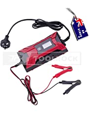 Toolrock Smart Battery Charger 12V/6V 4A Digital Automatic Maintainer Deep Cycle