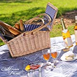 Picnic Basket Set - 2 Person Picnic Hamper Set