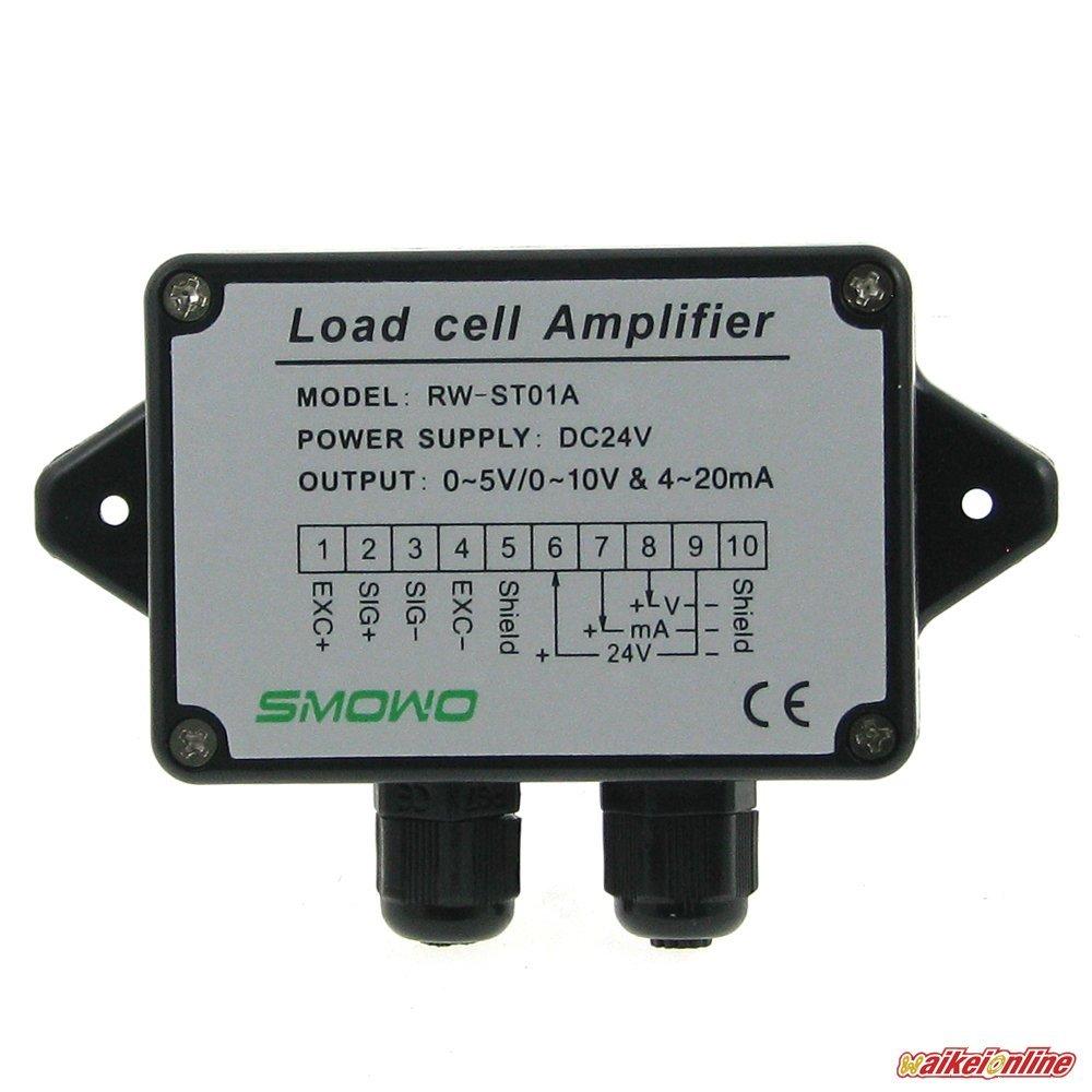 0 5v10v 4 20ma Load Cell Sensor Amplifier Transmitter Measurement Circuit Strain Gauge Transducer Automotive