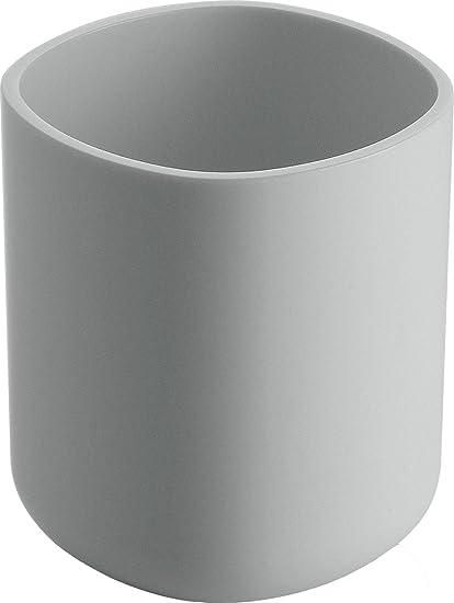 Alessi Birillo - Vaso para cepillos de dientes, color blanco