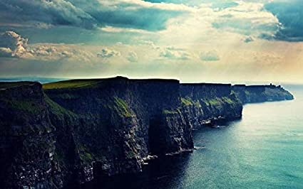 SHILIHOME Cliffs Of Moher Ireland Painting By Numbers Diy Unique