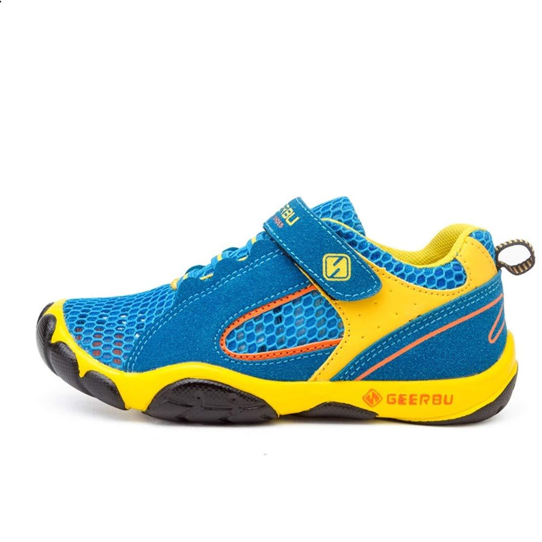 Unpowlink Kinder Schuhe Sportschuhe Ultraleicht Atmungsaktiv Turnschuhe Klettverschluss Low-Top Sneakers Laufen Schuhe Laufschuhe f/ür M/ädchen Jungen 28-40
