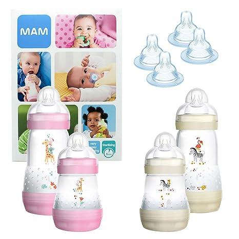 MAM Essential Bottle Set, regalos para bebés de +2 meses ...