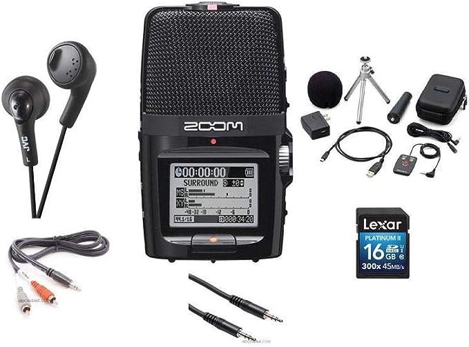 Zoom H2n Bundle Musikinstrumente