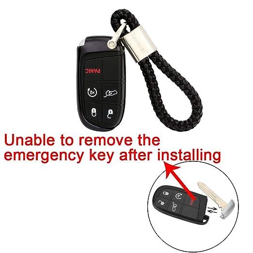Amazon.com: Senzeal - Carcasa de TPU para llave de coche sin ...