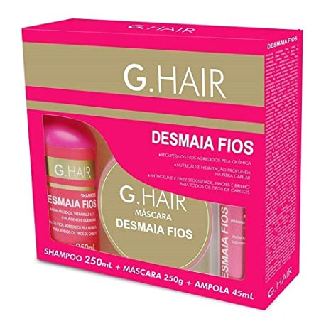 G.Hair Deep Nourishing and Conditioning Kit: Amazon.es: Salud y ...