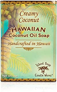 product image for Island Soap & Candle Works Handmade Soap, Coconut, 2 oz.