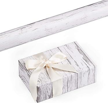 Amazon.com: RUSPEPA - Rollo de papel de regalo, diseño de ...