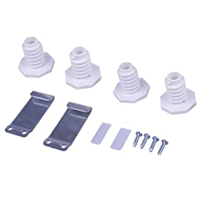 Siwdoy W10869845 Stack Kit for Whirlpool Standard & Long Vent Dryer W10298318RP AP6047938 PS3407625
