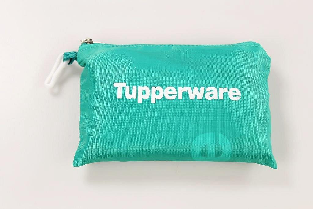 Tupperware Verde Turchese Borsa della spesa Borsa di stoffa Sacchetto Pieghevole