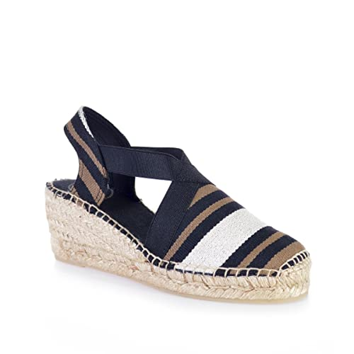 1809396e0a922 Toni Pons TARBES - Vegan Espadrille for Woman Made in Fabric.