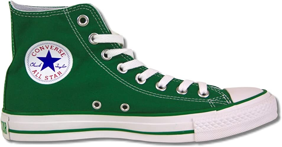 chaussures converse homme verte