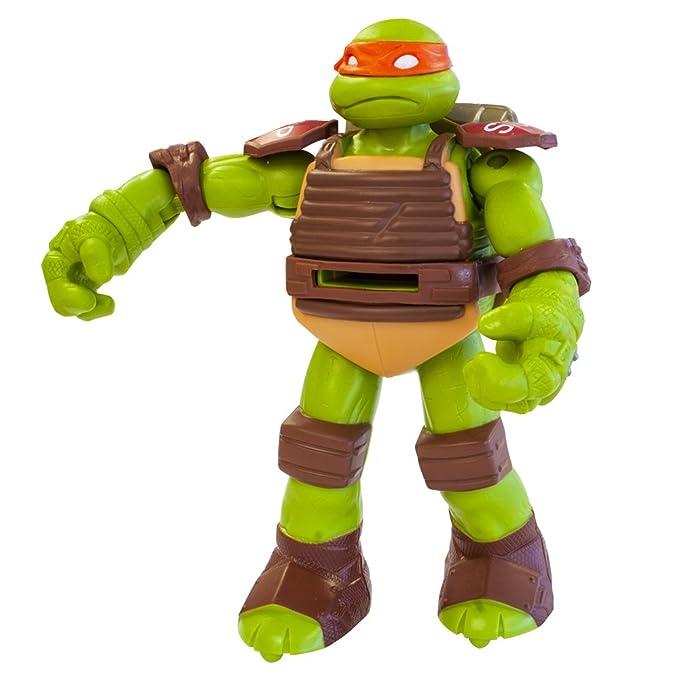 Tortugas Ninja - Figura con Armas: Michelangelo, 14 cm ...