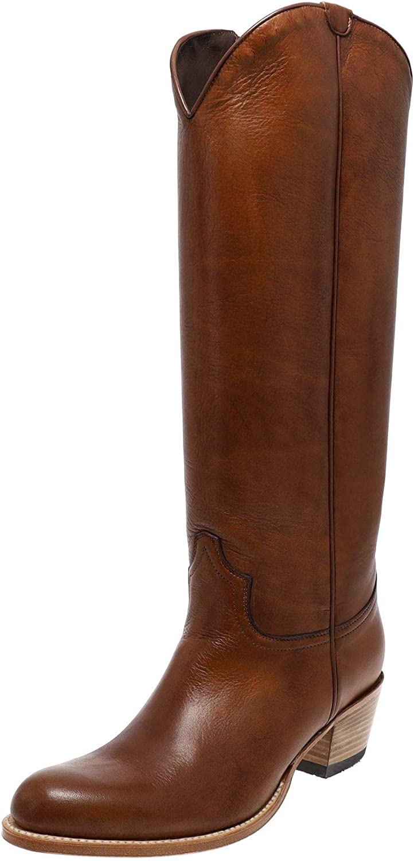 Sendra Boots 17384 Miel - Botas de piel para mujer, color marrón