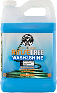 Chemical Guys CWS888 Rinse Free Wash and Shine, The Hose Free Rinseless Car Wash, 1 gal.