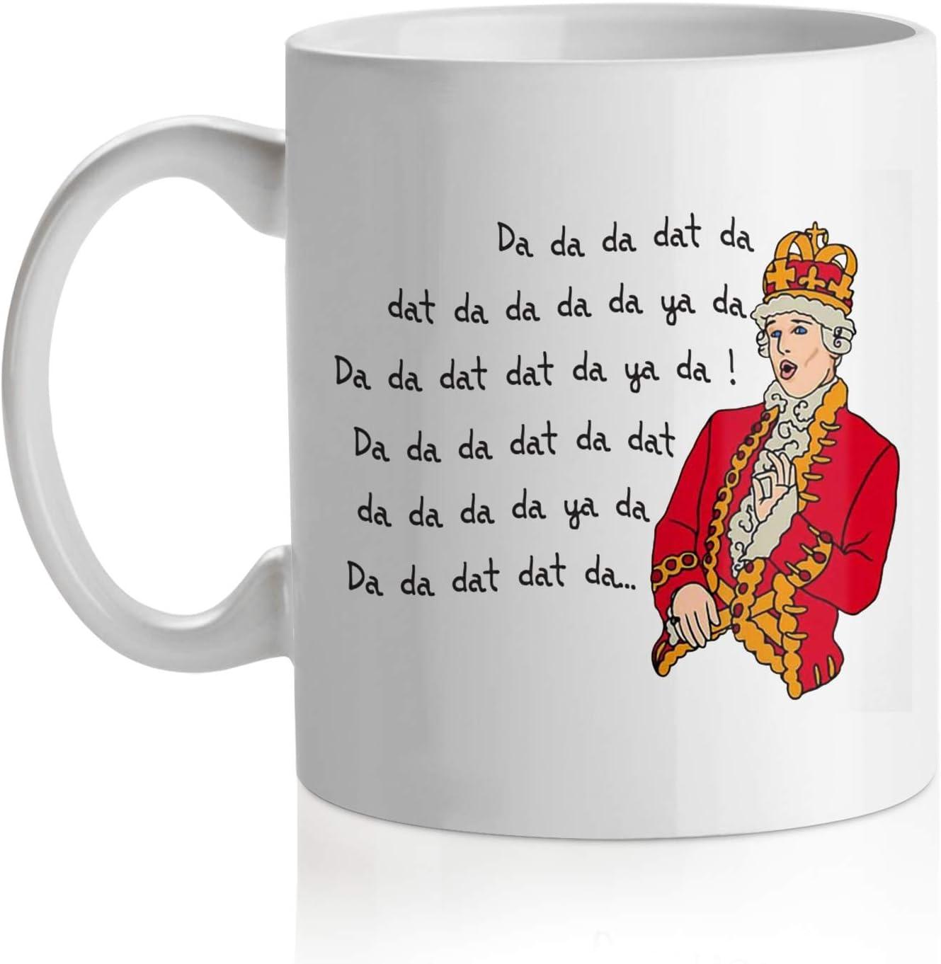 Hamilton Mug King George Quote Hamilton Fan Coffee Cups and Mugs