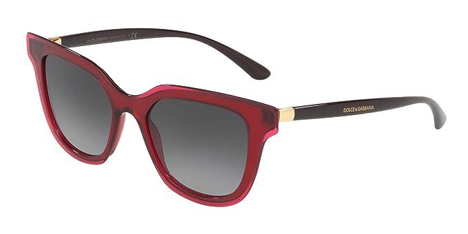 Gafas de Sol Dolce & Gabbana DOUBLE LINE DG 4362 RED/GREY ...