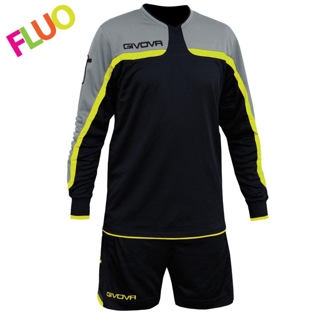 TALLA L. Givova kitp007, Camiseta y Pantalón Corto De Fútbol Unisex Adulto