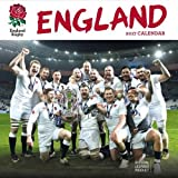 England Rugby Union Official 2017 Square Calendar