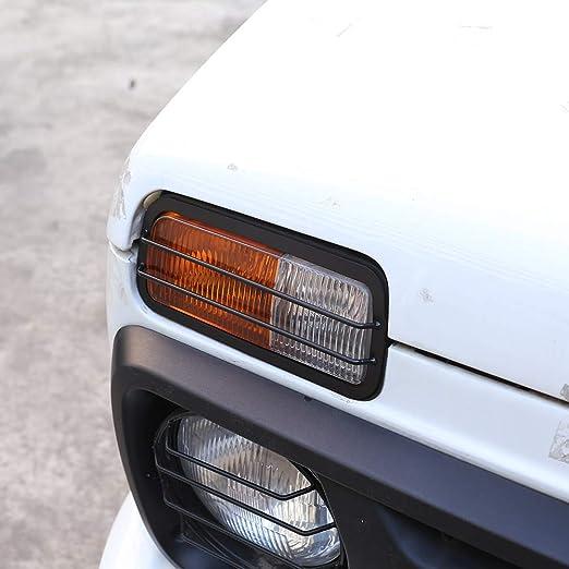 2 x Aluminio Aleación Frontal Antiniebla Lámpara Marco Trim para NIVA Car Accesorios.: Amazon.es: Coche y moto
