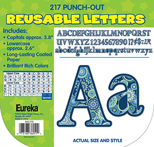 Paper Magic Educational Blue Harmony Circle Letters (845270) (Specialty Halloween Costumes)