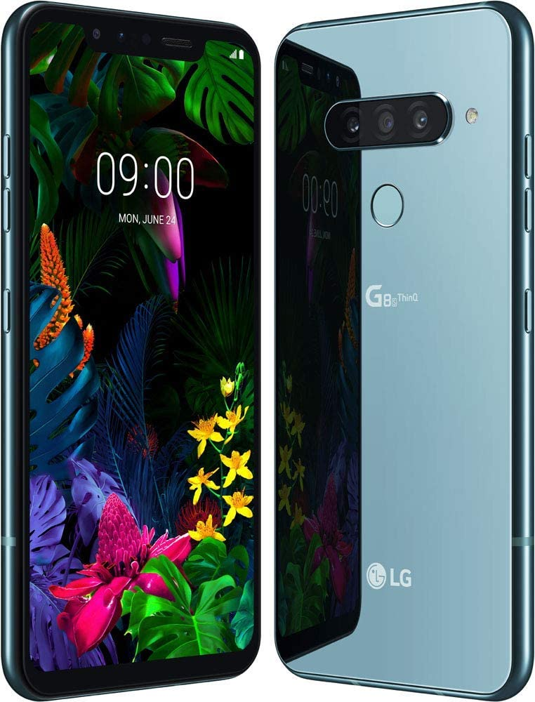 LG G8s ThinQ Dual SIM 128GB 6GB RAM Mirror Teal Green: Amazon.es ...