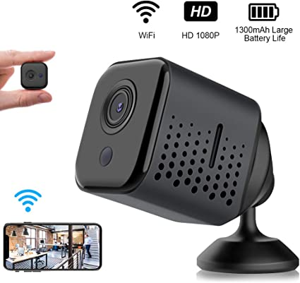 1080P HD Mini Wifi Hidden SPY Camera Motion Detection Video Cam  Night Vision