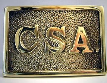 CSA boucle, boucle de ceinture Confederate States Army  Amazon.fr ... 60656490996