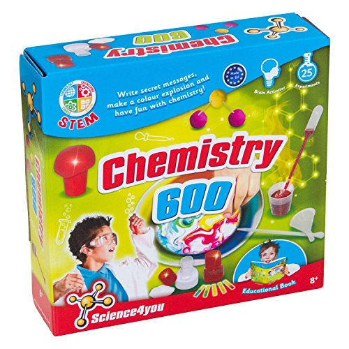 Science4you Chemistry 600 Kit Science Experiment