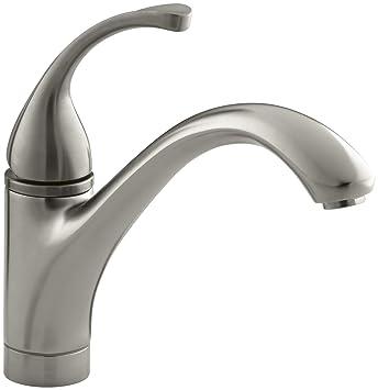Kohler K 10415 Bn Forte Single Control Kitchen Sink Faucet With