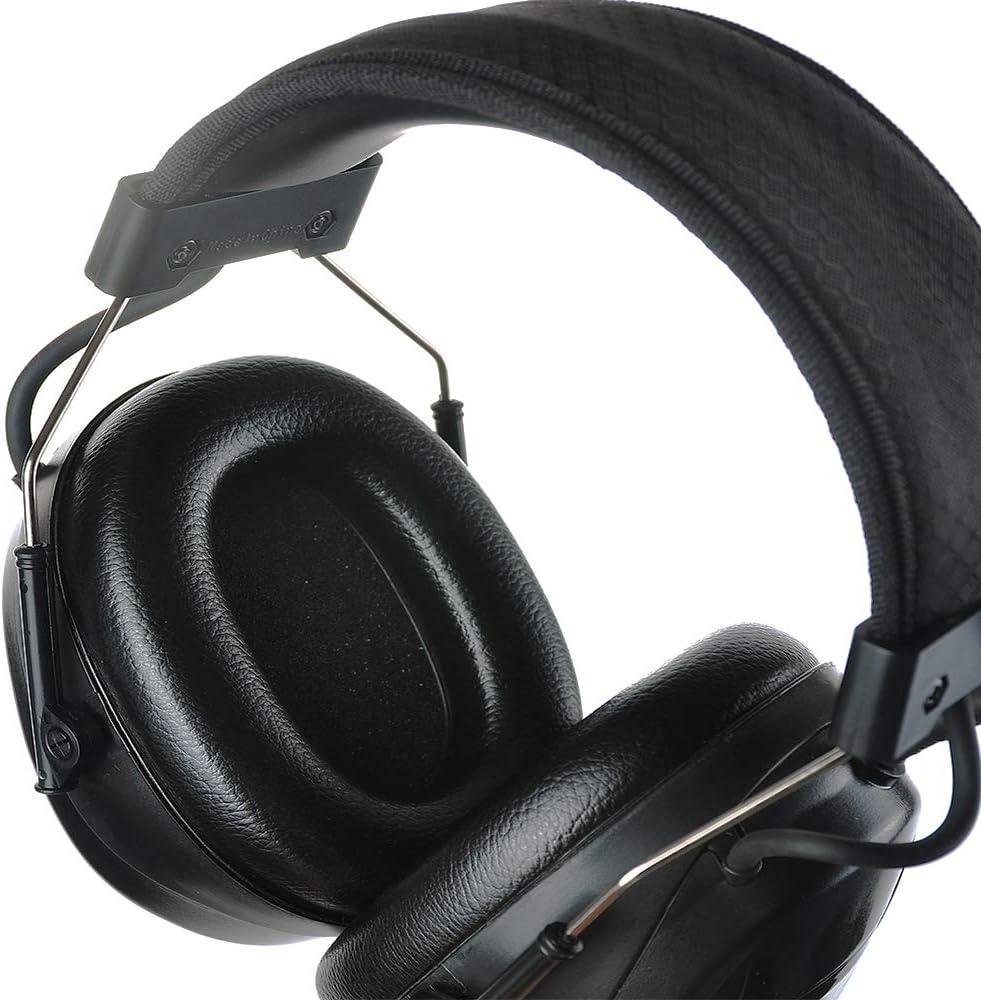 PROTEAR AM FM Radio Protection auditive Casques antibruit avec compatibilit/é MP3 SNR 30dB Protecteurs Oreilles Bandeau r/églable Casque /à r/éduction /électronique du Bruit