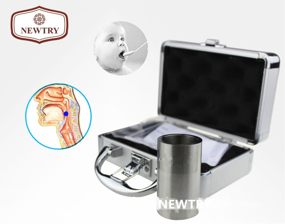 NEWTRY ZQ-010 Stainless Steel Small Part Choke Tester/Object Choking Test Tube/Cylinder/Toy Testing Instrument For Children