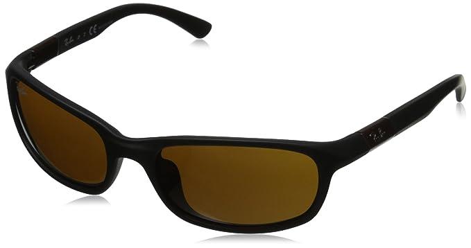 5c2782778ee9 Amazon.com  Ray-Ban Junior 0RJ9056S Rectangular Sunglasses