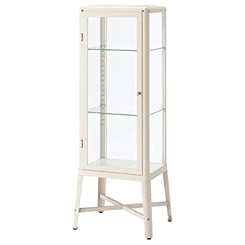 Astounding Ikea 202 422 77 Fabrikor Glass Door Cabinet Beige Home Interior And Landscaping Transignezvosmurscom